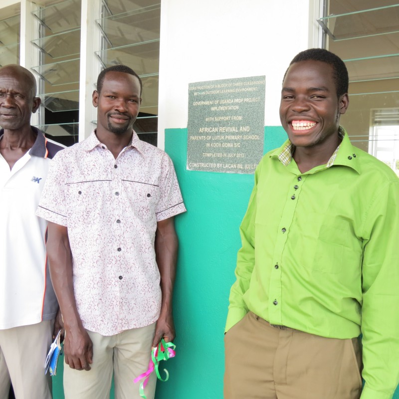 We hear from Walter at Lutuk Primary School - African Revival