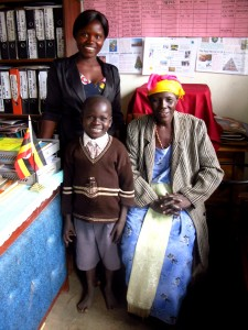 Okello Elvis, teacher & mother