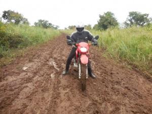 Bosco on Motorbike