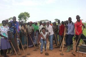 Farmers group members-Tedi Primary School