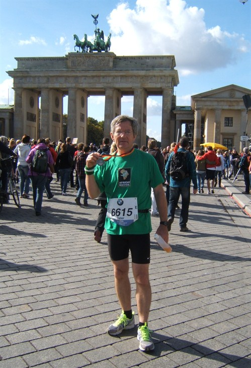 Peter Nunn Berlin Marathon