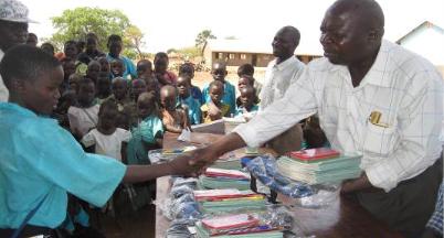 Pupils Receiving Prizes