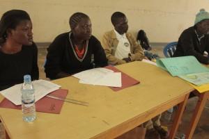 Teachers in class