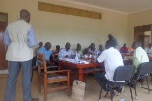 LEARN Project closure meeting-Abim District
