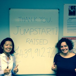 jumpstart thank you